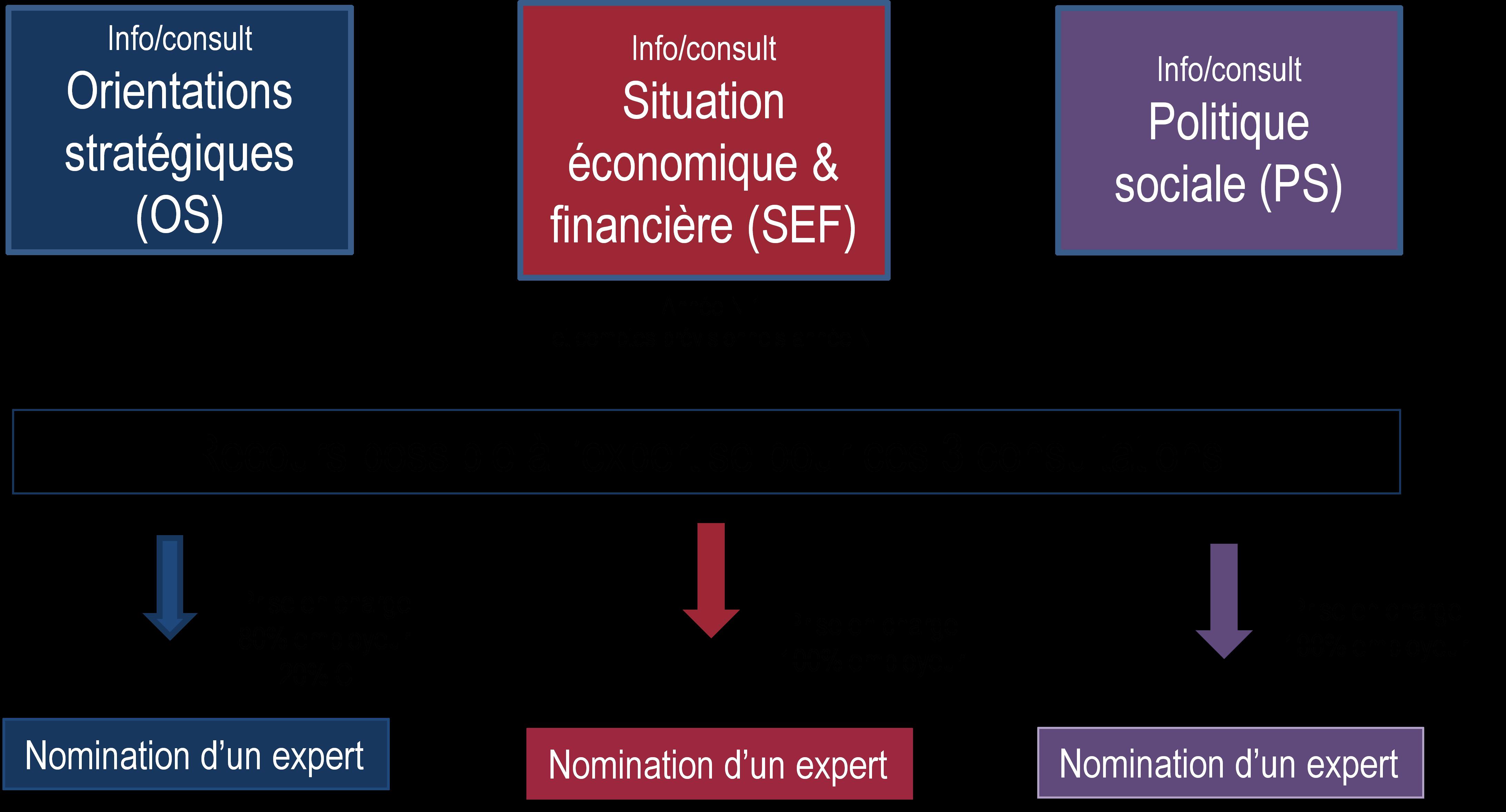 Les 3 consultations récurrentes du CSE